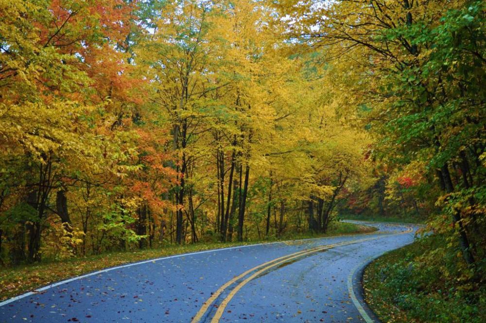 Mount Jefferson in Fall