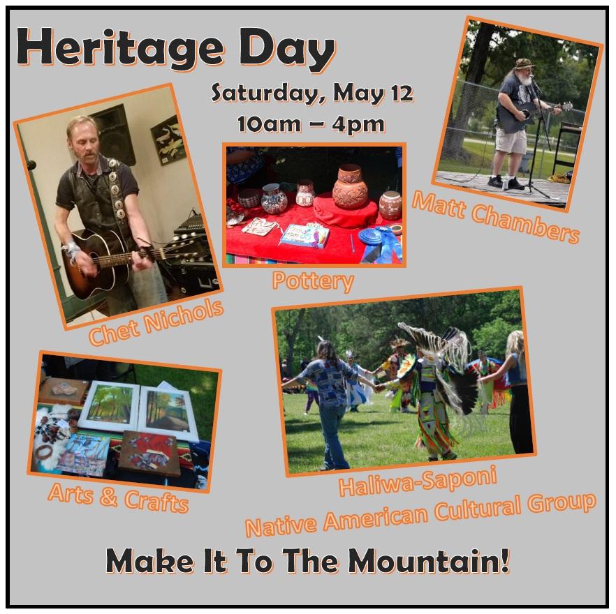 Medoc Mountain Heritage Day, Matt Chambers, Chet Nichols