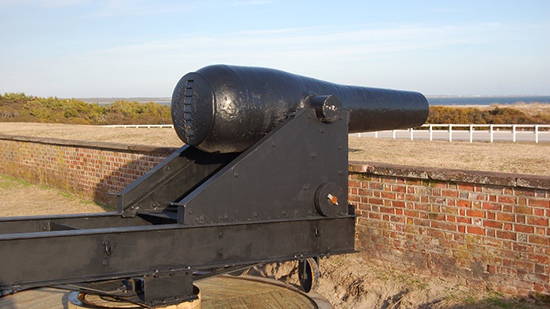 Model 1861 Confederate Rodman 10-inch Columbiad