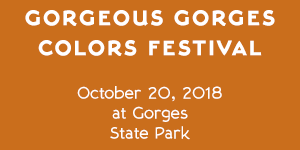 Gorgeous Gorges Colors Festival