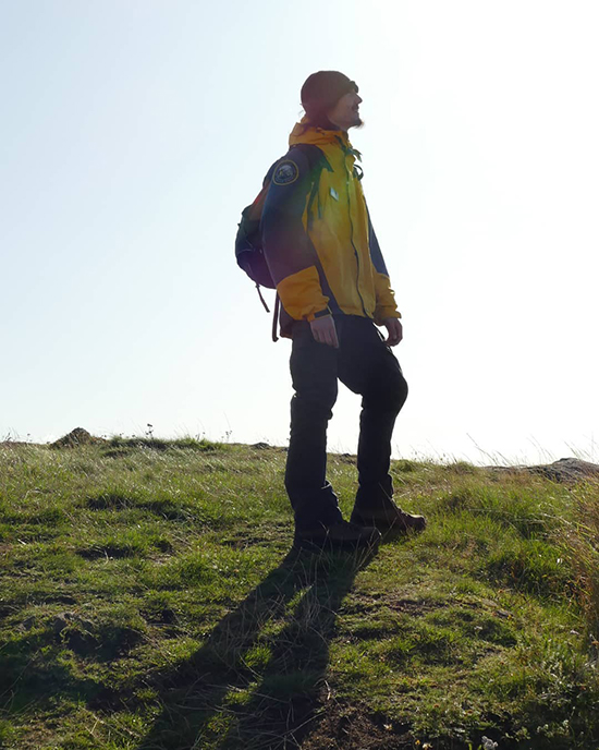 Scotland Ranger Luke Taylor. Courtesy photo.
