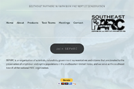 Southeast Partners in Amphibian and Reptile Conservation website thumbnail