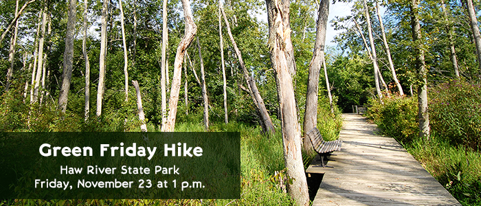 Green Friday Hike - Haw River State Park