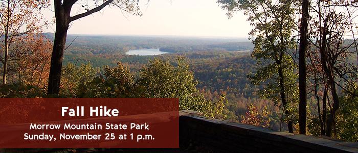Fall Hike - Morrow Mountain State Park