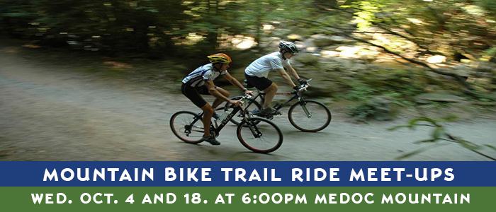Medoc Mountain State Park Biking