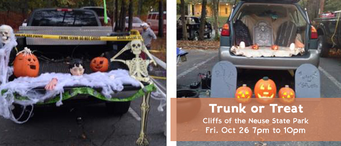 Cliffs of the Neuse State Park - Trunk or Treat