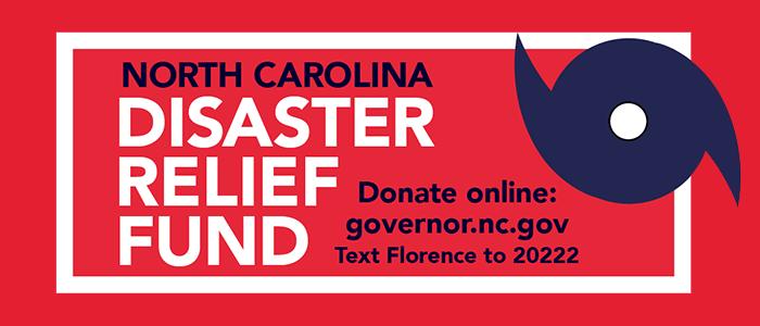 North Carolina disaster relief fund