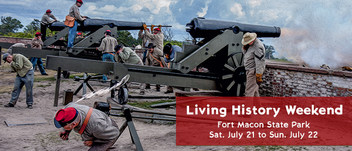 Fort Macon State Park Living History Weekend