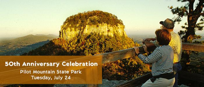 Pilot Mountain State Park 50th Anniversary Celebration