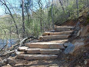 Buckquarter Creek Trail at Eno River State Park