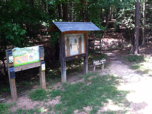 Falls Lake State Recreation Area – Beaverdam Access – TRACK Trail – Duck Cove Trail