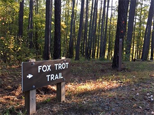 Falls Lake State Recreation Area – Fox Trot Trail