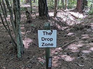 Falls Lake State Recreation Area – Mountain Bike Trail – Drop Zone