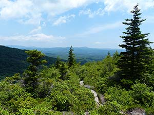 Cragway Trail at Grandfather Mountain State Park