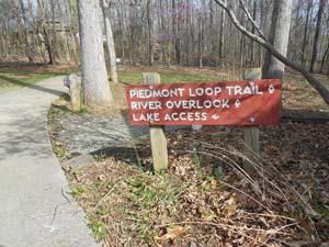 Piedmont Loop Trail at Haw River State Park