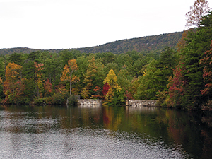 Lake at Hanging Rock State Park. Photo by J. Anthony.