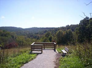 Dogwood Trail at New River State Park