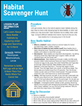 Habitat Scavenger Hunt lesson plan screenshot