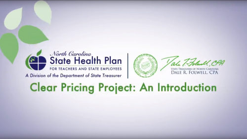 State Health Plan Clear Pricing Project Introduction