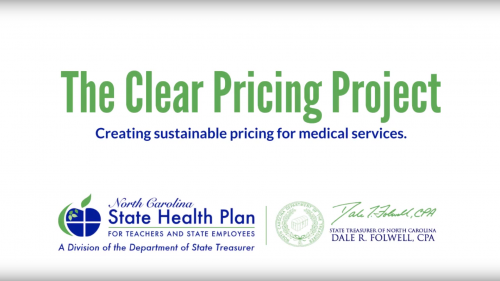 State Health Plan Clear Pricing Project Overview