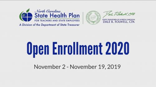 Open Enrollment 2020 dates
