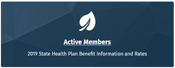 Blue Active Members button