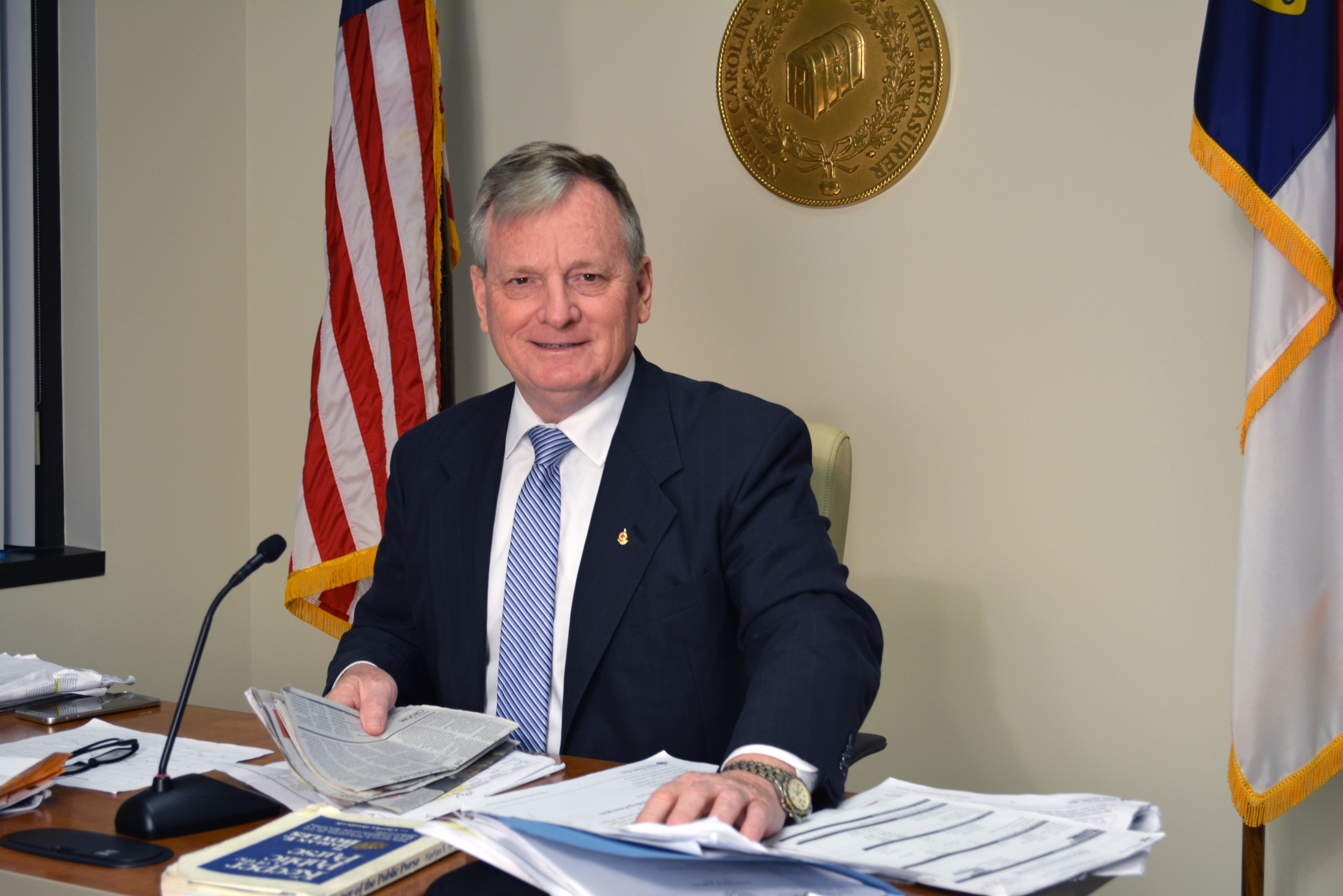 Image of State Treasurer Dale Folwell