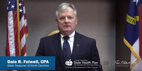 Image of Treasurer Dale Folwell, CPA