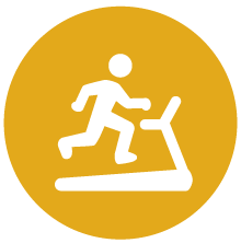 Icon representing excercise