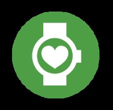 Icon representing a FitBit