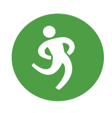 Icon representing worksite wellness