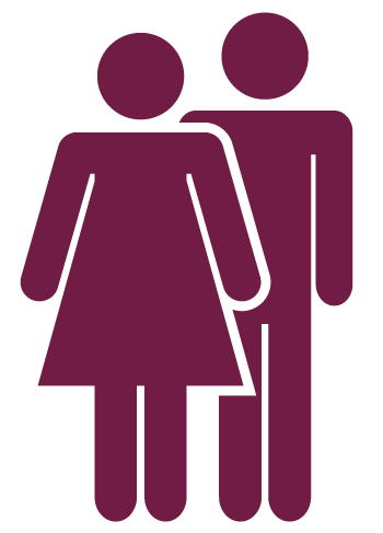Image representing a man and woman