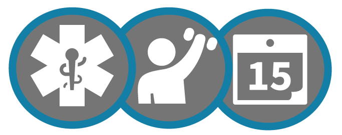 Icons representing the State Health Plan