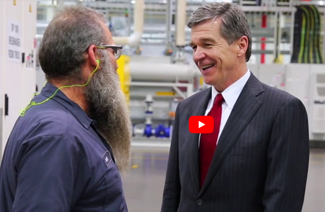 Video of Governor Cooper Showcasing Hometown Strong