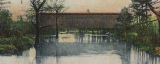 Covered Bridge in lumberton