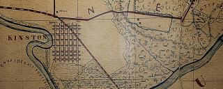 Riverfron Map of Lenoir County NC