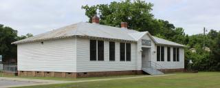 Exterior of Princeville School Museum