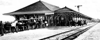 depot train station in elizabeth city nc