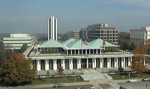 Photo of NC legislative building