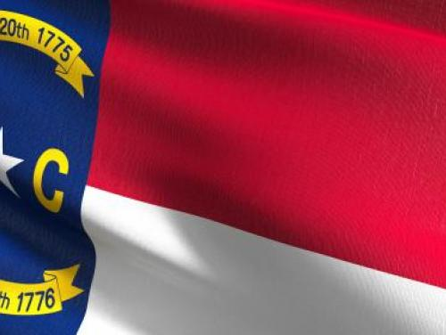Photo of North Carolina flag