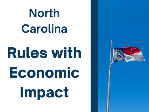 Annual Rules with Economic Impact Report