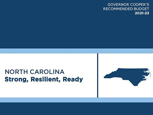 Governor Cooper's FY 2021-23 Budget Recommendations