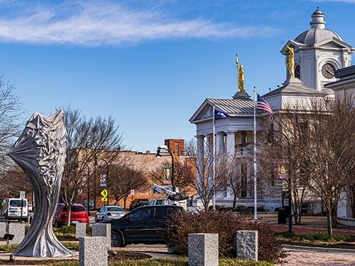 downtown Goldsboro, NC