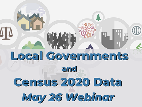 Masthead for Local Government Census Data webinar
