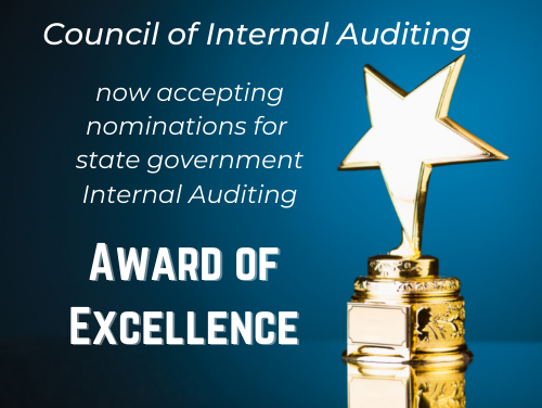 Internal Auditing Award of Excellence promo