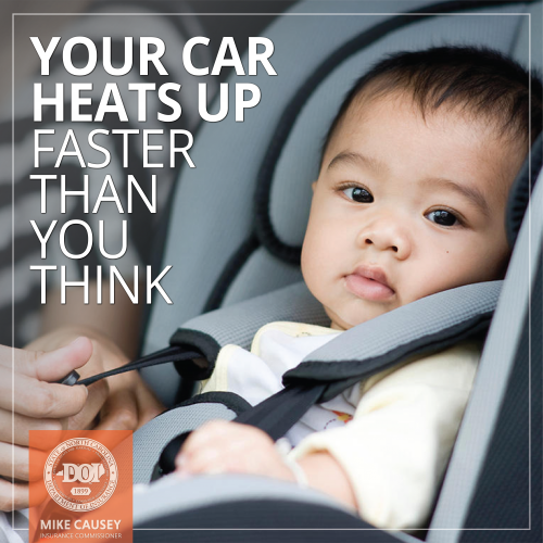 Your car heats up faster than you think