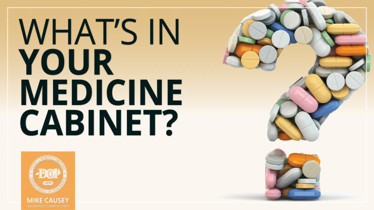What's in your medicine cabinet graphic