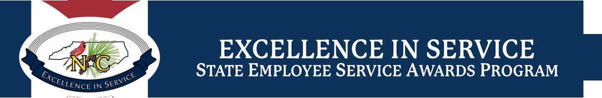 State employee service awards logo