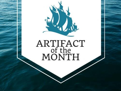 Artifact of the Month banner