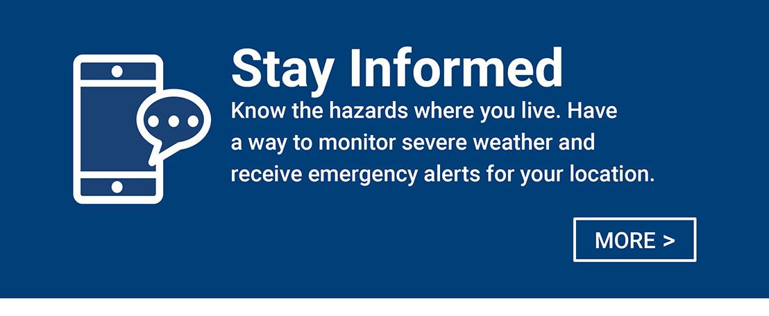 Stay Informed -
